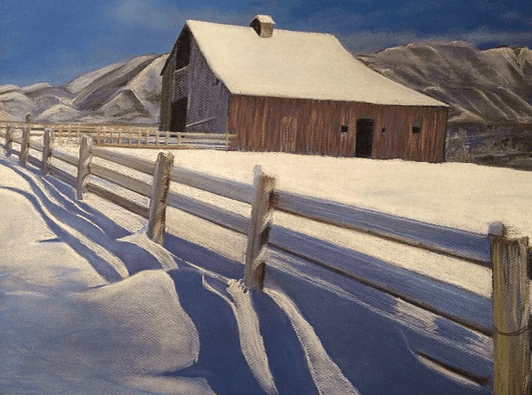 Snowy Shadow | Tina Husted, Art at Argo's